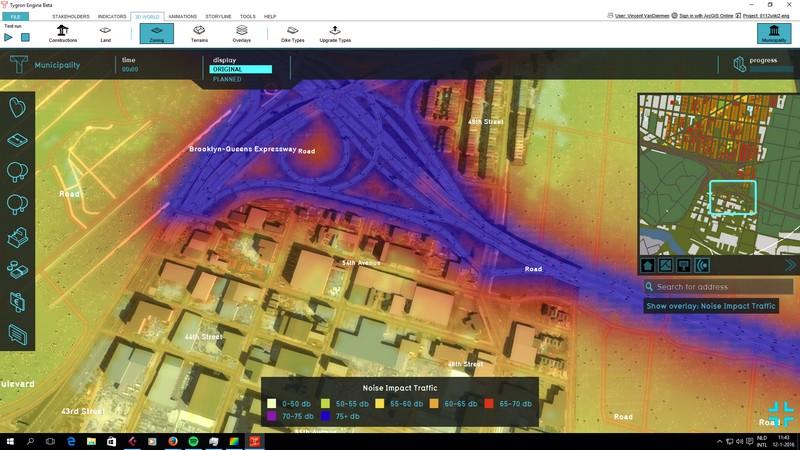 Traffic Noise (Overlay) - Tygron Support Wiki
